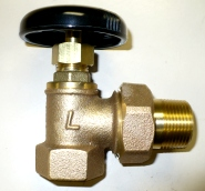 Legend Angle Radiator Valve