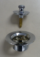 Lift And Spin Tub Drain Stopper
